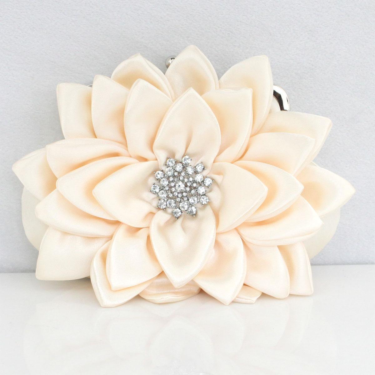 结婚宴会礼品 彩月时尚丝绸镶钻手包晚宴包新娘包伴娘包女士小包