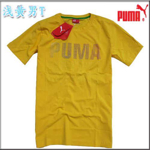 Спортивная футболка Puma Puma N13P Воротник-стойка 100 хлопок Спорт и отдых Влагопоглощающая функция, Защита от UV, Воздухопроницаемые % С логотипом бренда