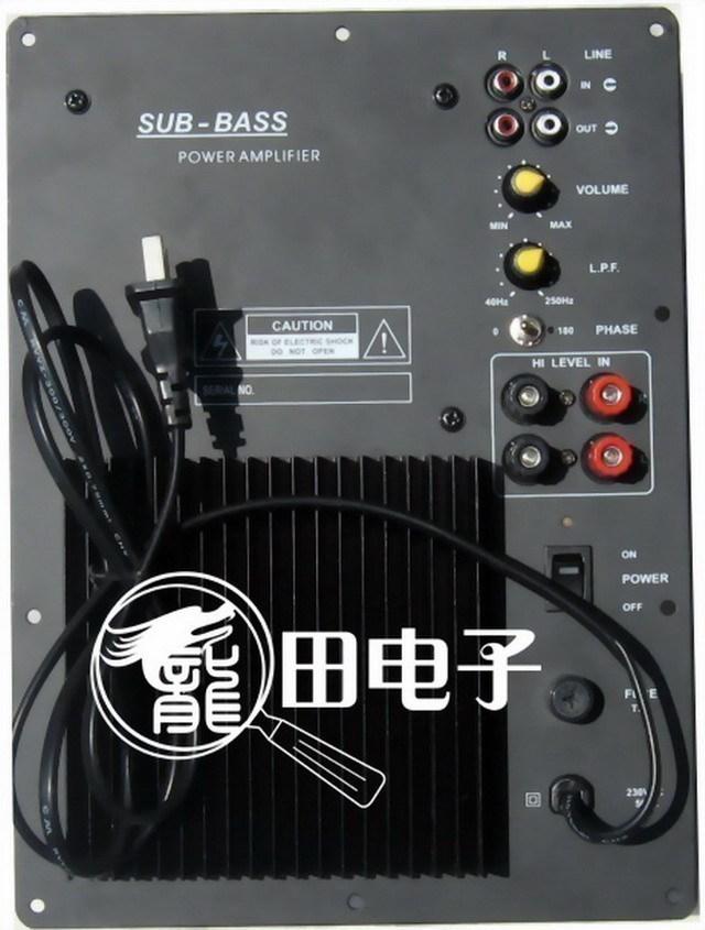 Усилитель [Добро пожаловать e] панелей, сабвуфер усилитель мощности трансформатора 80W Совет
