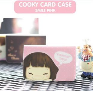 Бумажник Hohos ♥ фотографии Корея cookyshop милая девочка 12 карт клип | Карта Pack 3 цвета в Портмоне Жен. Пвх