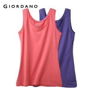 2012 Giordano rainbow color vest underwear ladies ' two-Pack 01240557
