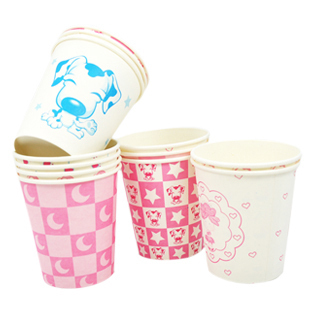 Creative home disposable paper Cup personality and creative cartoon wedding toast/commodity paper cups Cup 5G