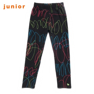 Giordano in summer 2012 new stock recommendation seven girls fluorescent color flower stretch children tights seven