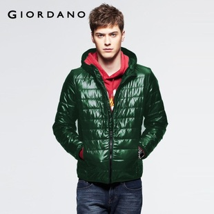 2012 Giordano men's jackets new Shirley colorful CONTRAST COLOR even Cap efficient warm fleece jacket 01071604