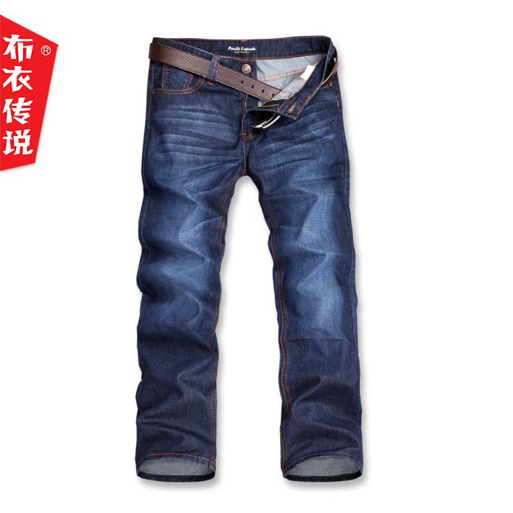Джинсы мужские Pouilly Legende nnk151 2012 Прямые брюки Классическая джинсовая ткань Модная одежда для отдыха 2012