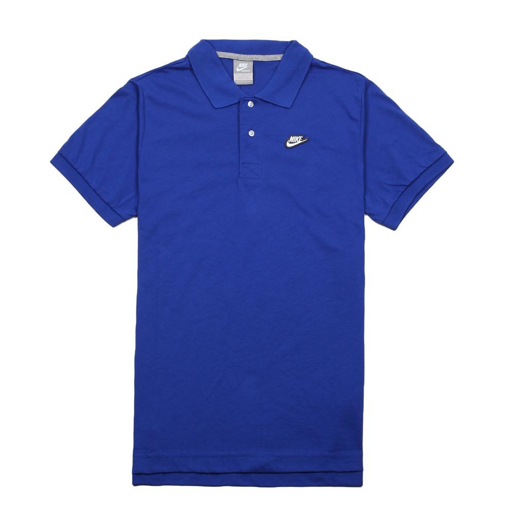 Рубашка поло Nike 502653/429 502653-429 Мужская 100 Короткие рукава ( ≧35cm ) С логотипом бренда Спорт и отдых
