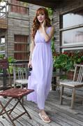 2014夏装女装雪纺连衣裙 宽松大码吊带纯色气质沙滩大摆长裙