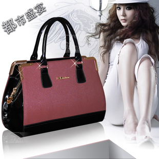 2014女包时尚斜跨包小包定型包手提包女士包包单肩包夏LB04