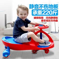 静音轮很安静,大人一坐上去,车车不错__儿童扭扭车婴幼儿女宝宝玩具摇摆车1-3-6岁男妞妞车子滑行溜溜车