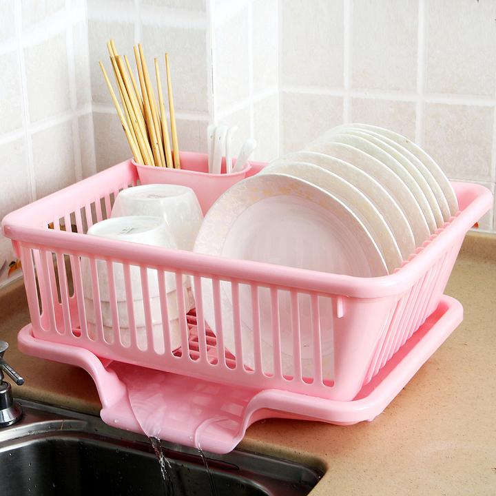 碗碟放碗架厨房石墨塑料滴水单层架沥水v碗碟炼硅用碗筷图片
