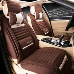 汽车坐垫四季通用全包座垫夏专用沃尔沃进口V40 S60 V60 XC90XC60