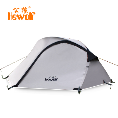 Male wolf outdoor tent Double Pole Double winter camping camping equipment against storm 2 1579