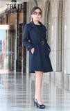 查看精选2014秋冬英伦风加厚毛呢外套中长款西服女式风衣大衣最新价格