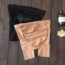 17防走光孕妇安全裤夏季三分裤薄款可调节托腹裤打底内裤弹力短裤