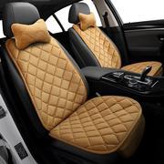现代领动悦动ix25名图35朗动坐垫半包冬季小蛮腰单个汽车座垫