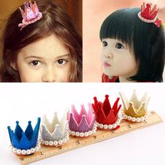 挺好看的,戴在头上很洋气,里面很藏了一颗宝石__韩国儿童发夹小卡子女童发卡公主立体发饰宝宝婴儿头饰品
