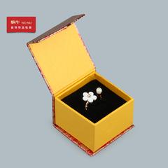 玫瑰金前磁铁戒指盒吊坠盒耳钉盒项链盒手镯盒首饰盒收纳盒饰品盒