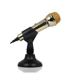 声丽 SM-098 台式電腦麥克風 全民K歌语音话筒手机唱吧聊天专用