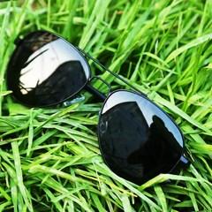 17个性谢霆锋太阳眼镜彩色蛤蟆墨镜男女士镜面反光