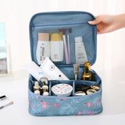 便携化妆包大容量手拿收纳袋韩国简约小号防水旅行随身洗漱品手提
