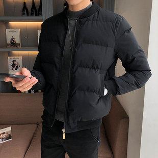 棉衣男士外套2018冬季短款加厚棉服潮流帅气冬装棉袄