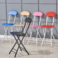 凳子很不错,有两张不稳,可以收起来也不占空间__折叠椅子便携家用餐椅凳子靠背椅培训椅学生宿舍椅简约电脑椅圆凳