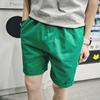 希望之城2017夏季时尚糖果色短裤 男士纯棉松紧腰运动短裤子