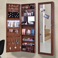 全身镜 衣帽间衣柜壁挂镜收纳柜子 家用简约现代试衣镜子 穿衣镜