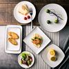 漫妙家盘子早餐西餐牛排盘碟陶瓷餐具创意日式简约黑线菜盘家用盘