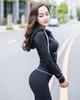 韩国2018运动套装春秋显瘦小脚裤品牌时尚卫衣女